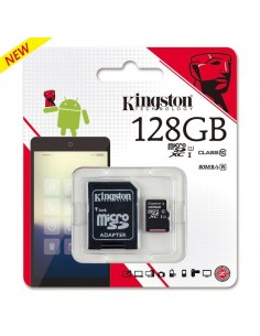 Micro SD+A 128GB Kingsto CL.10