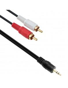 Кабел Аудио М-М, 3.5мм, 1.5м