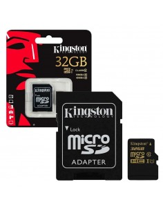 MicroSD Kingston 32GB Cl. 10