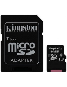 MicroSD Kingston 64GB Cl. 10+A