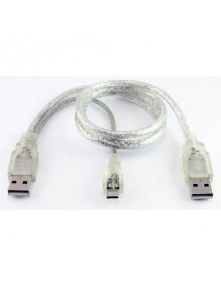 USB 2.0 A - Micro USB Dual